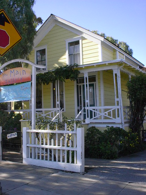 Located at 1018 Main Street, Redwood City, CA 94063 John Offerman's Residence circa 1857
