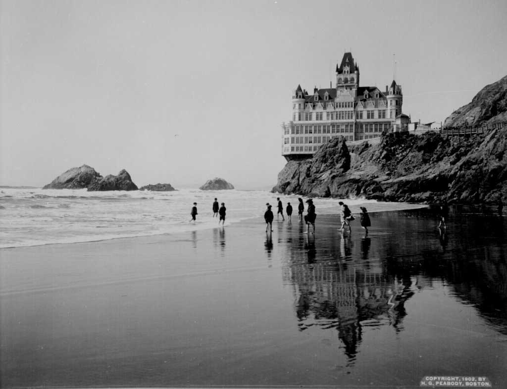 Cliff House 1902 and Seal Rocks