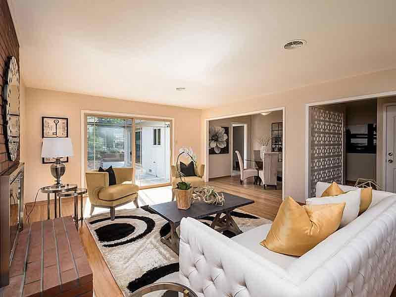Living Room Sf Bay Homes